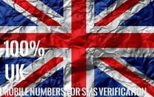 Uk Phone Number for Sms Verification