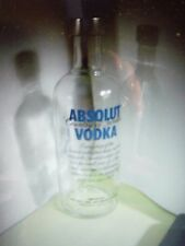 1 ABSOLUT VODKA 200 ml Empty Bottle for collectible