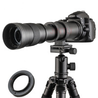 420-800mm f8.3-f16 HD Manual Focus TELEPHOTO Zoom LENS for Micro 4/3 m43 Cameras