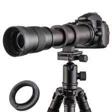 420-800mm F8.3-16 Telephoto Lens for Nikon D7200 D5100 D3400 D3200 D90 D80 D800