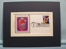Walt Disney's Beauty & the Beast and First Day Cover of its own stamp