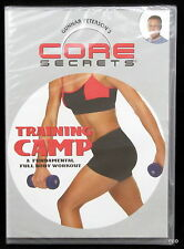 Gunnar Peterson's Core Secrets Training Camp Full Body Workout DVD Factory Seal