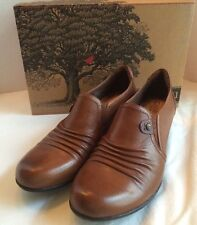 Cobb Hill By New Balance Brown Leather ADELE-CH Womens Sz 8 Wide Shorties