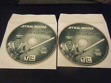 Star Wars: Jedi Knight -- Jedi Academy (PC, 2003) - Discs Only!!!