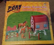New North America Show Jumper with Horse Action Figure Play Kids Toy Doll