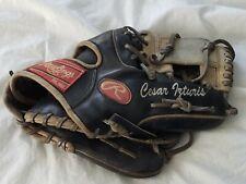 Cesar Izturis Game Used Worn Rawlings Baseball Fielding Glove Los Angeles Dodger