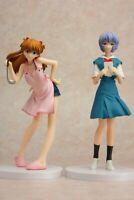 SEGA Neon Genesis Evangelion Private Time Rei & Asuka Figure set
