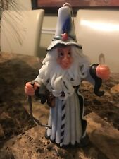 Merlin The Wizard Hand Made Original Candle With Crystal
