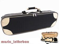 Promotion Item- Enhanced 4/4 Foamed/Oblong Shape Violin Case+Free violin String