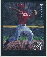 1997 Pinnacle 8X10 1998 Donruss Jumbo Scott Rolen Duflex Phillies Lot of 8 RC
