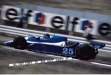 9x6 Photograph Jacky Ickx , F1 Ligier-Cosworth JS11 , German GP Hockenheim 1979