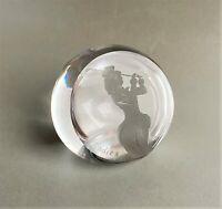 Gravierte Stifthalter Personalisiert Glas Briefbeschwerer Globus