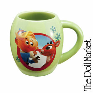 New - Rudolph the Red Nose Reindeer Holiday - Collectible Coffee Mug by Vandor