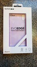 iPhone X- tech21 EVOEDGE Ultra-Thin Case Cover FlexShock Drop Protection