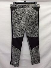 Necessary Objects Juniors Print Knit Legging, Black, XL