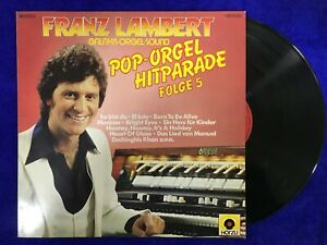 FRANZ LAMBERT LP VINILO GALAXIS ORGEL SOUND POP HITPARADE FOLGE 5 GERMANY