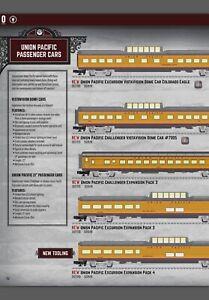 """Lionel UP Challenger 21"""" Expansion Set #3 2027170, 2019 v2 Pullman, VistaDome"""