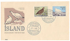 Used First Day Cover Icelandic Stamps