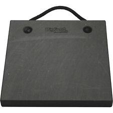Bigfoot Outrigger Pad - Black, 18in.L x 18in.W, Model# P181815