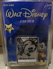 Mickey Mouse Cartoon Sketch Retro USB 4 port laptop PC Christmas Stocking Filler
