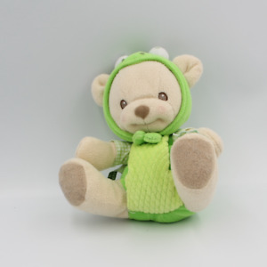 Doudou nature bearries ours grenouille  FISHER PRICE - Ours Classique