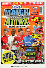 2009-10 Topps Match Attax Trading Card Game Collectors Guide Book x2(Bonus Card)