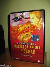 PEPLUM MACISTE E LA REGINA DI SAMAR DVD NUOVO SIGILLATO ALAN STEEL