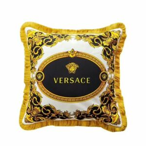 Versace Pillow Case Mid 2000 Classic Luxury So Nice 20x20 Inch NOS Nice