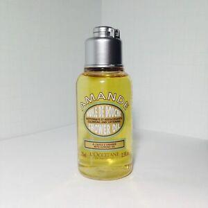 L'Occitane Amande Cleansing & Softening Shower Oil w/Almond Oil 75ml Travel Size