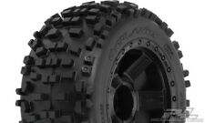 Proline Badlands 3.8' All Terrain Tires on Desperado Black 1/2' #1178-11