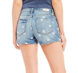 Miss Me Women Shorts Jeans Stars Print Mini Party Beach Hot Sexy Summer Denim