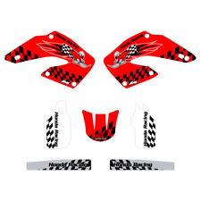 Honda CR125 CR250 2000-2001 Woody graphics kit red highlight FREE SHIPPING!!!