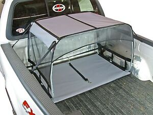 Truck Bed K9 Canopy Dog Shade Shelter Kennel Crate Leash Tent Cover Tether House