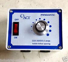 Interruttore di controllo AC1, 230V PART N. PWM230VAC