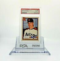 1991 Topps Traded #4T Jeff Bagwell PSA 9