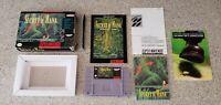 Secret of Mana Super Nintendo SNES RPG Game Map Box Manual Complete CIB Lot !!!!