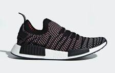 low priced fc219 b6c60 Adidas Mens NMDR1 STLT Primeknit Running Shoes Core BlackGrey CQ2386 c