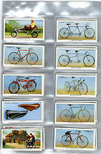 cigarette cards cycling bikes 1939 full set