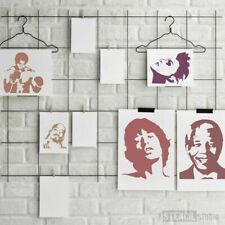 Mohammed Ali Stencil - Reusable Wall stencil - Wall Art - DIY Art - Icons -10176