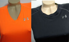 2 Under Armour Athletic Running Shirt LOT Womens size Small - MINT!