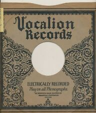 78 RPM Company logo sleeves-VOCALION Electric (15000 series)