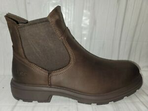 UGG Australia Men's Biltmore Brown Chelsea Ankle Boots WP Leather Size US 9