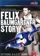 DVD SIGILLATO, NUOVO FELIX BAUMGARTNER STORY - EXTREME B.A.S.E. JUMP - 502