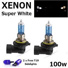 HB4 (9006) 80w 100w SUPER BRIGHT WHITE XENON LOOK UPGRADE Head Light Bulbs 12v