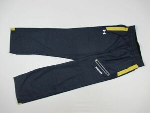 Notre Dame Fighting Irish Under Armour Athletic Pants Men's Navy Poly New Small