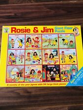 Rosie and Jim  Theme Months Of The Year Giant Floor Puzzle Micheal Stanfield