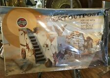 Vintage Airfix 32nd Scale Military Desert Outpost  MODEL  KIT COMPLETE 1/32