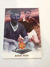 Manchester United Futera Platinum 1999 Greatest Card (DP)