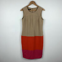 Jones New York Womens Dress Size 8 Pencil Dress Multicoloured Sleeveless Gorgeou