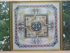 15% Off Chatelaine Counted X-stitch Chart - The Celtic Garden Mandala